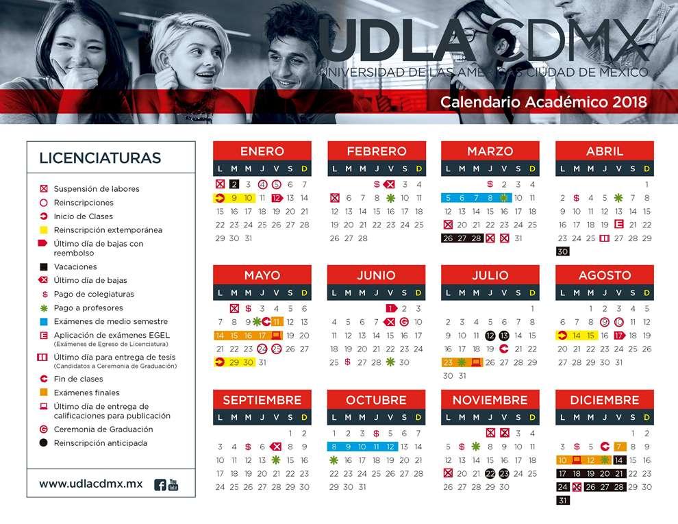 Calendario Academico Udla 2019.Udla Cdmx Udla Cdmx